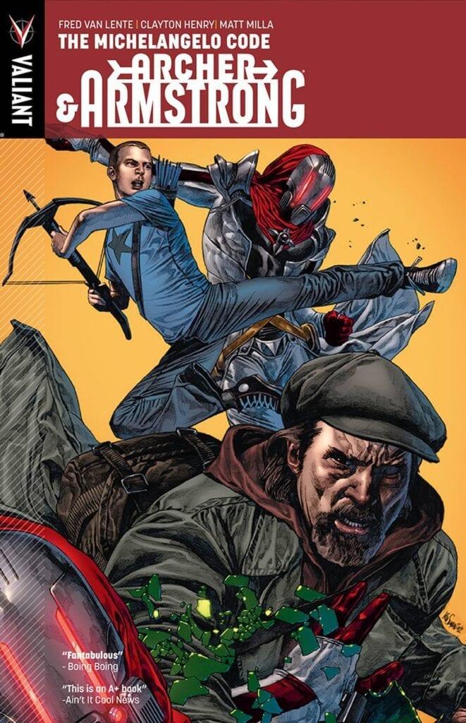 Descargar Archer Armstrong comic