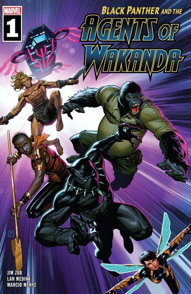 Comic completo Black Panther and The Agents of Wakanda Volumen 1