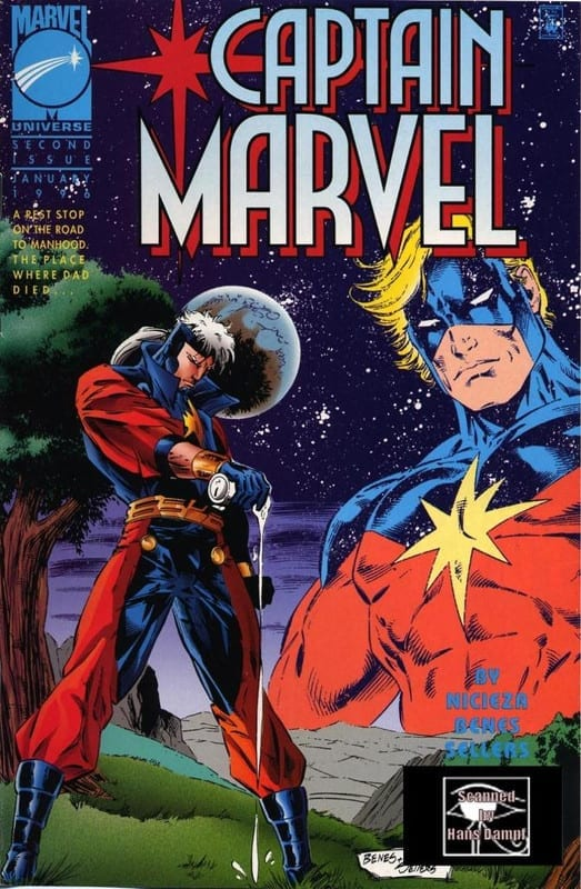 Descargar Capitán Marvel volumen 3 comic