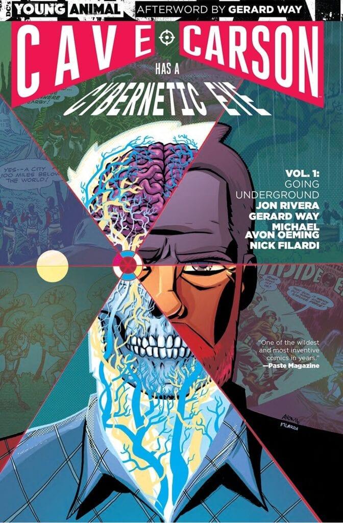 Descargar Cave Carson Has a Cybernetic Eye Volumen 1 comic