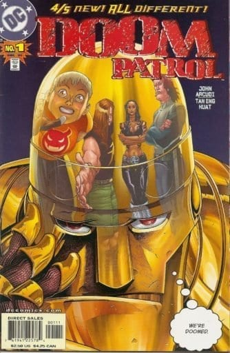 Descargar Doom Patrol Volumen 3 comic