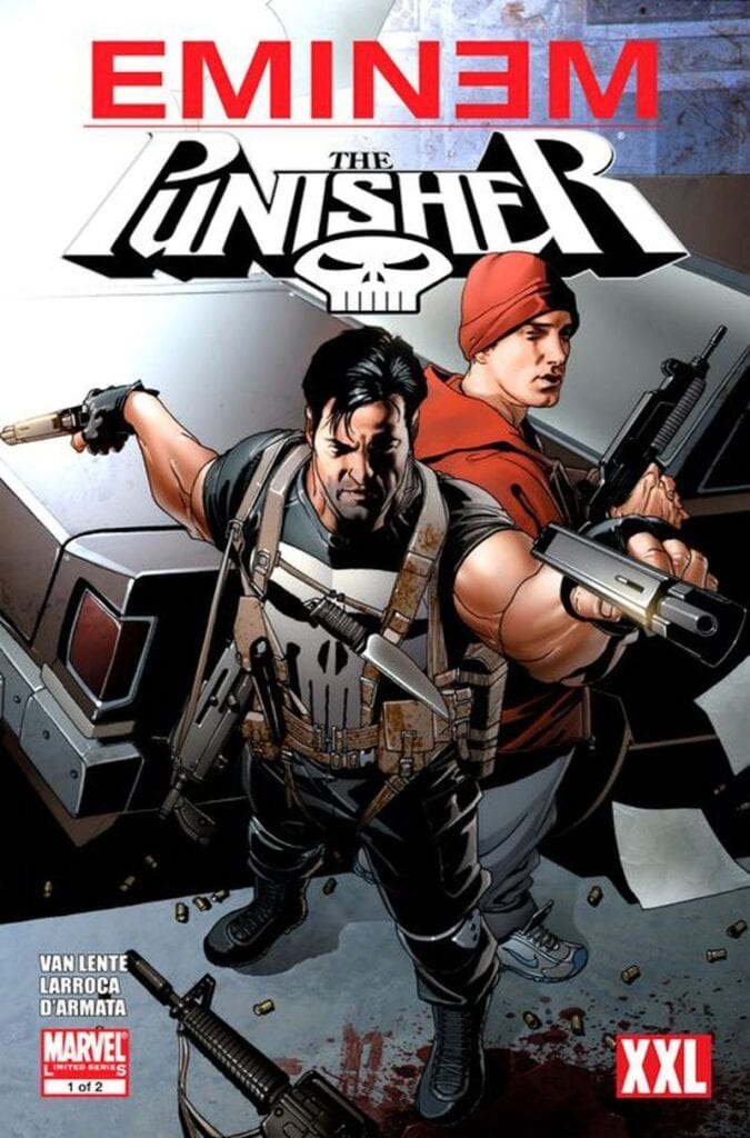 Descargar Eminem Punisher comic