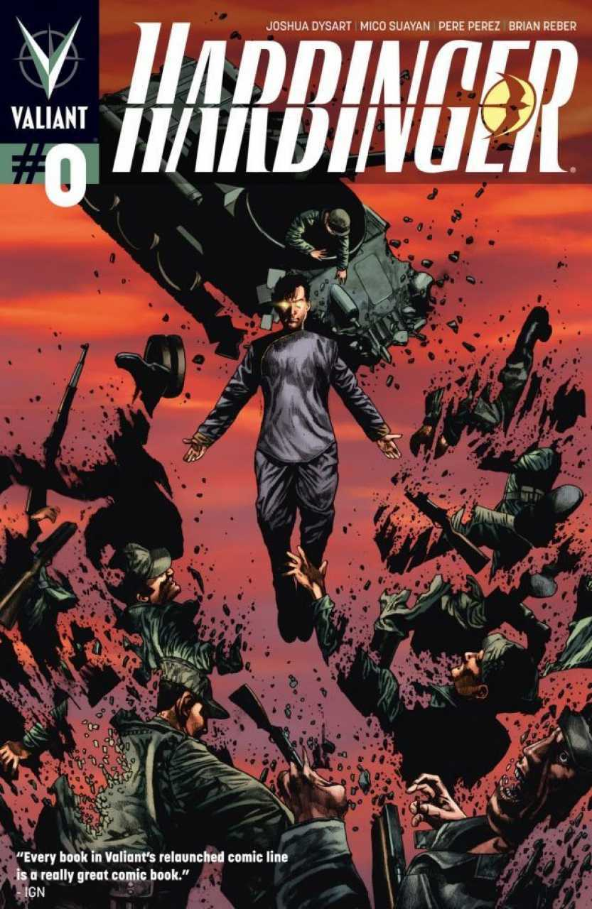 Descargar HARBINGER comic