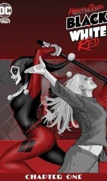 Comic completoHARLEY QUINN: BLACK + WHITE + RED