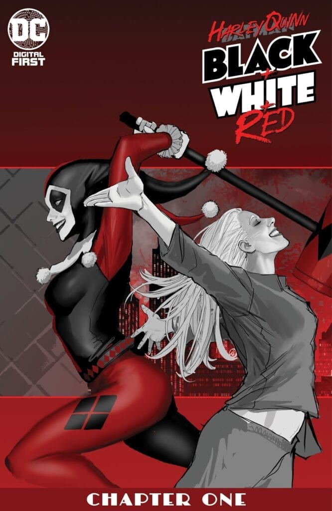 Descargar HARLEY QUINN BLACK WHITE RED comic