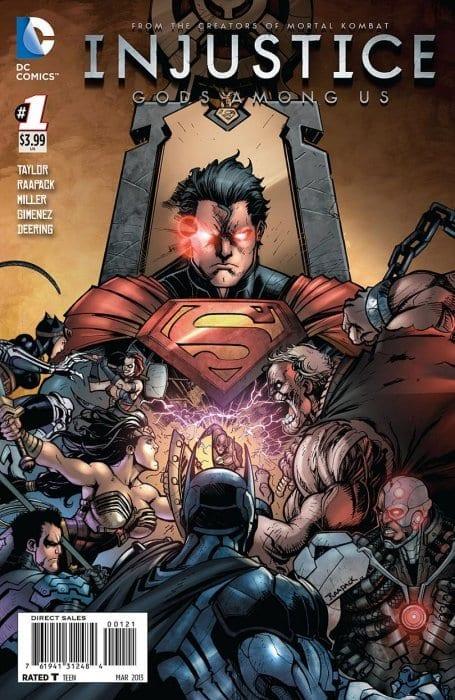 Descargar Injustice Gods Among Us comic
