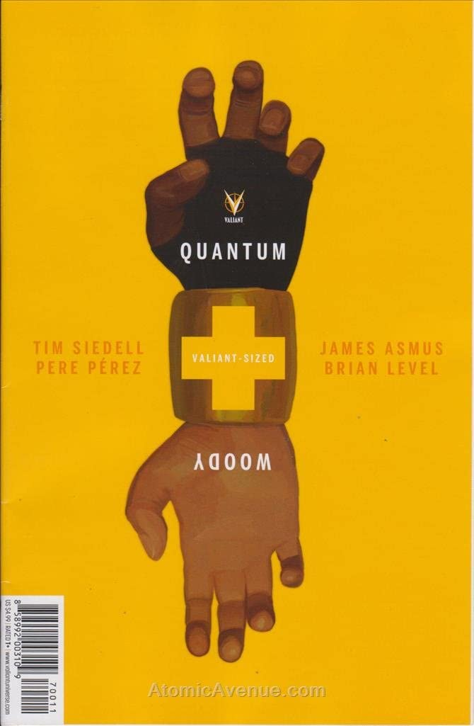 Comic completo QUANTUM AND WOODY VALIANT-SIZED