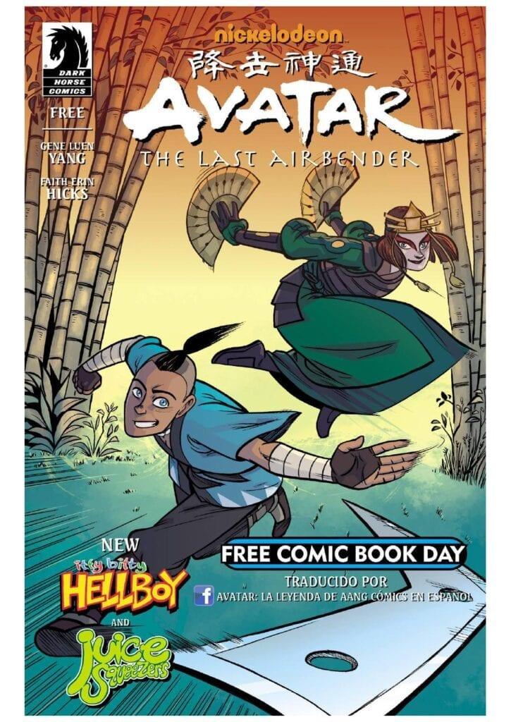 Descargar Sokka y Suki Shells comic