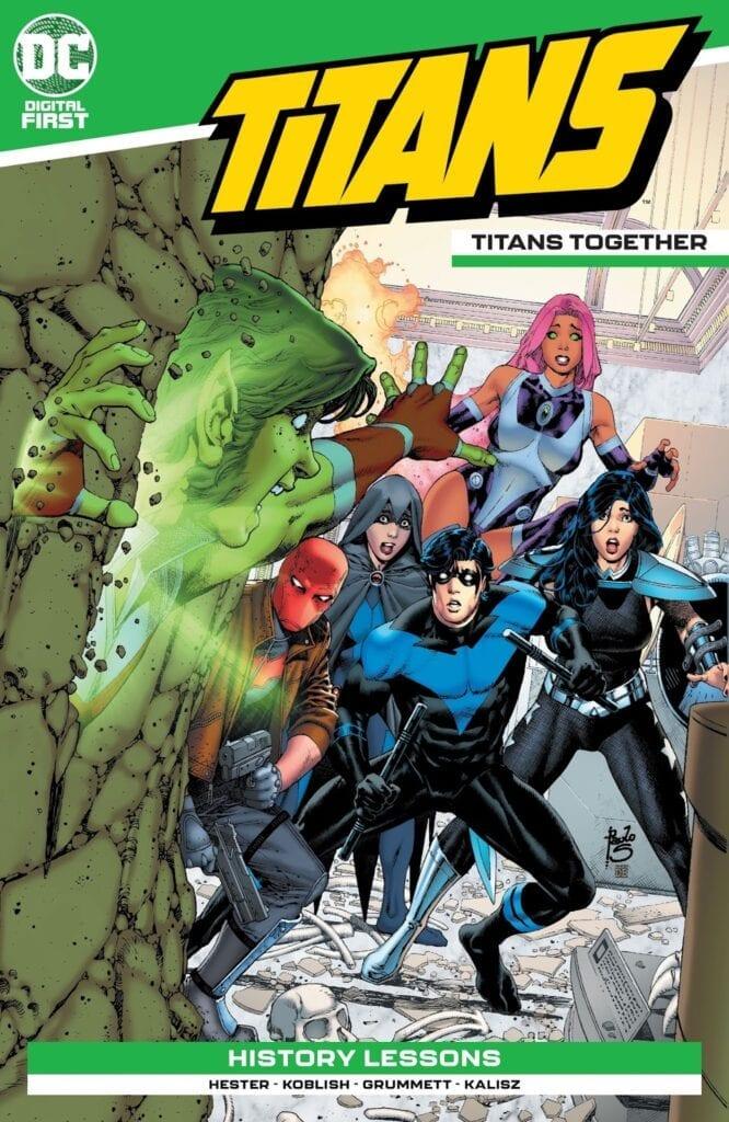Descargar TITANS TOGETHER comic