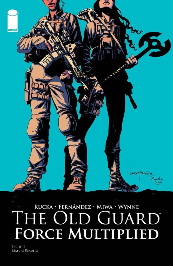Descargar The Old Guard Force Multiplied Volumen 1 comic