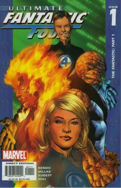 Descargar Ultimate Fantastic Four Volumen 1 comic