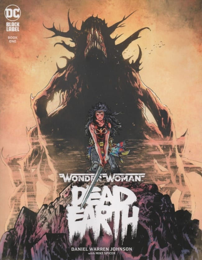 Comic completo WONDER WOMAN: DEAD EARTH