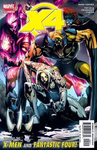 Descargar X Men Fantastic Four Volumen 1 comic