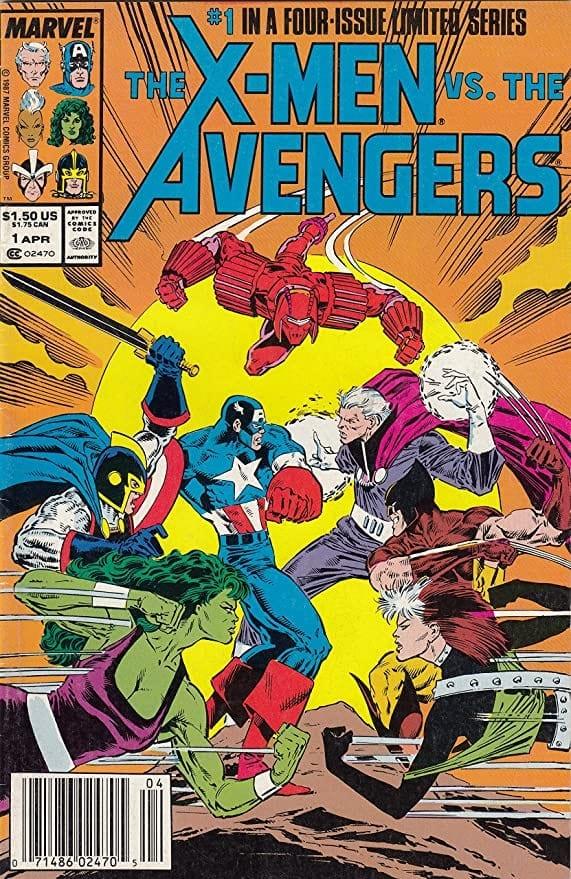 Comic completo X-Men vs Avengers Volumen 1