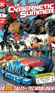 Comic completo DC CYBERNETIC SUMMER