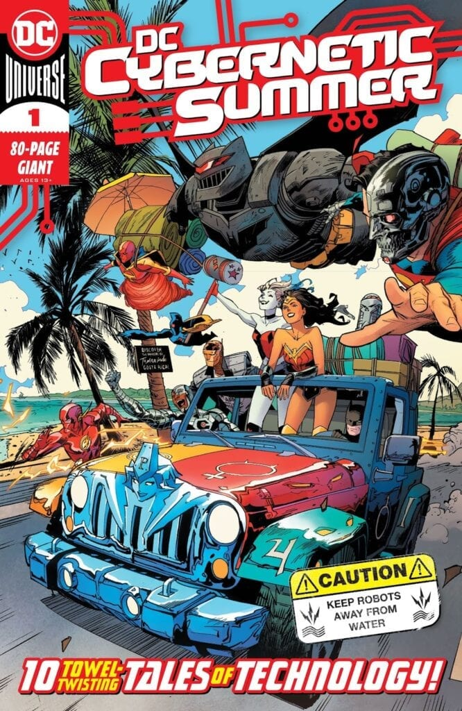 Descargar DC CYBERNETIC SUMMER comic