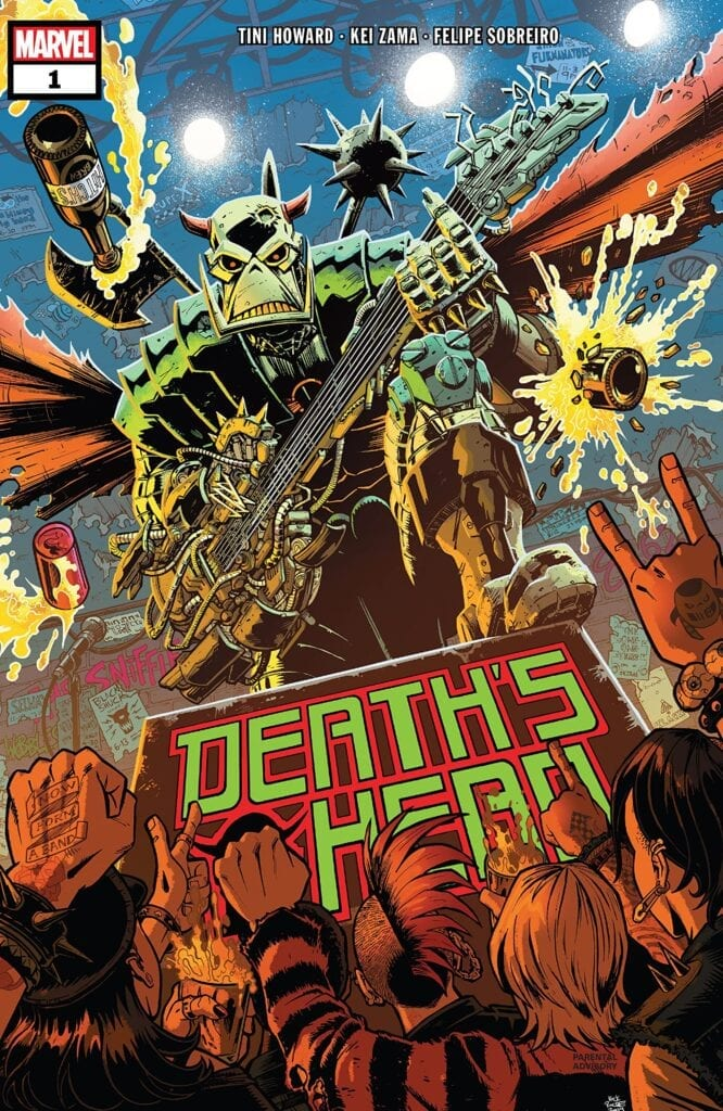 Comic completo DEATH'S HEAD VOL 2