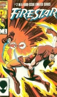 Comic completo Firestar