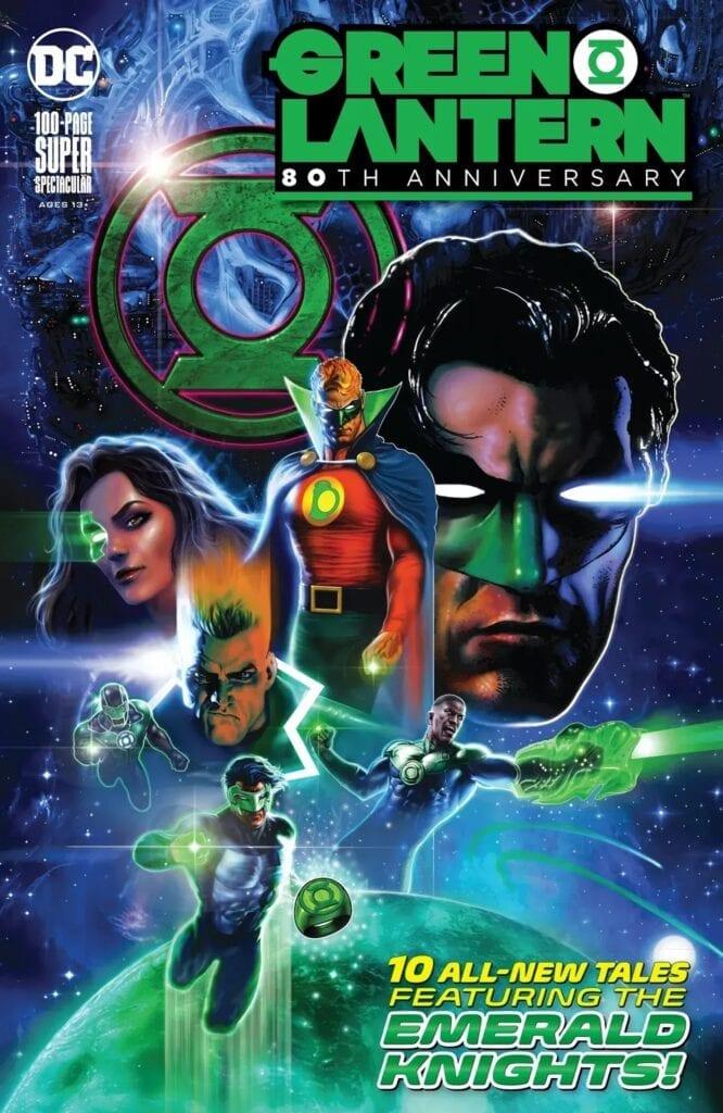 Descargar GREEN LANTERN 80 ANIVERSARIO comic