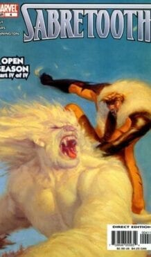 Comic completo Sabretooth: Open Season