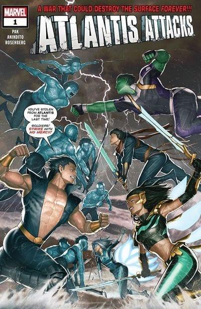 Descargar Atlantis Attacks comic
