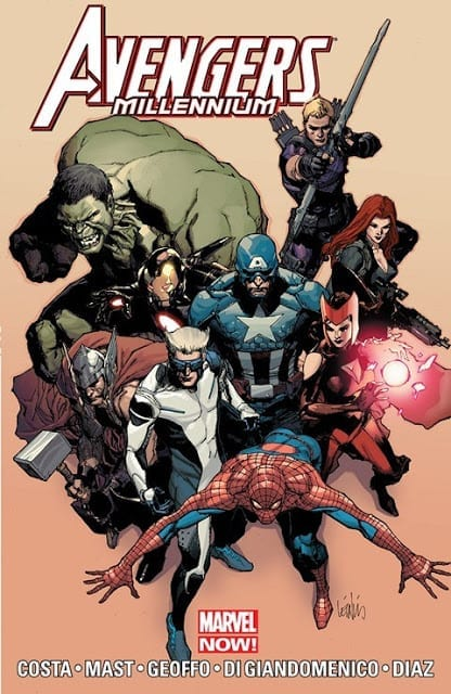 Comic completo Avengers Millennium