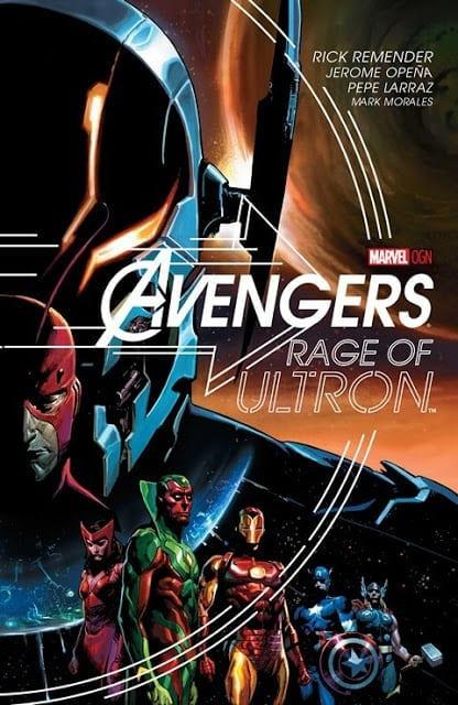 Comic completo Avengers Rage Of Ultron