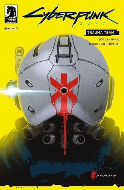 Comic completo Cyberpunk 2077 Trauma Center