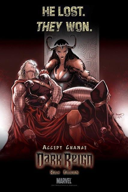 Comic completo Dark Reign