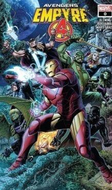 Comic completo Empyre Avengers