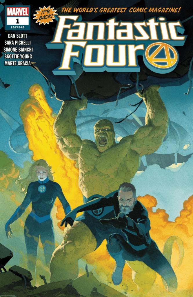 Comic en curso Fantastic Four Volumen 6