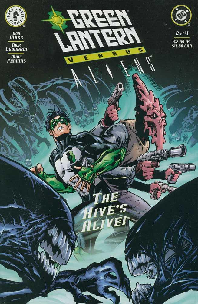 Comic completo Green Lantern vs Aliens