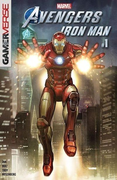 Comic completo Marvel's Avengers - Iron Man
