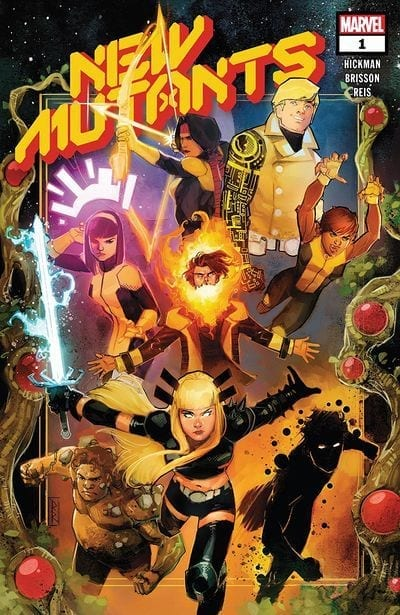 Comic en emision New Mutants