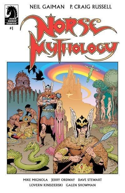 Comic en emision Norse Mythology