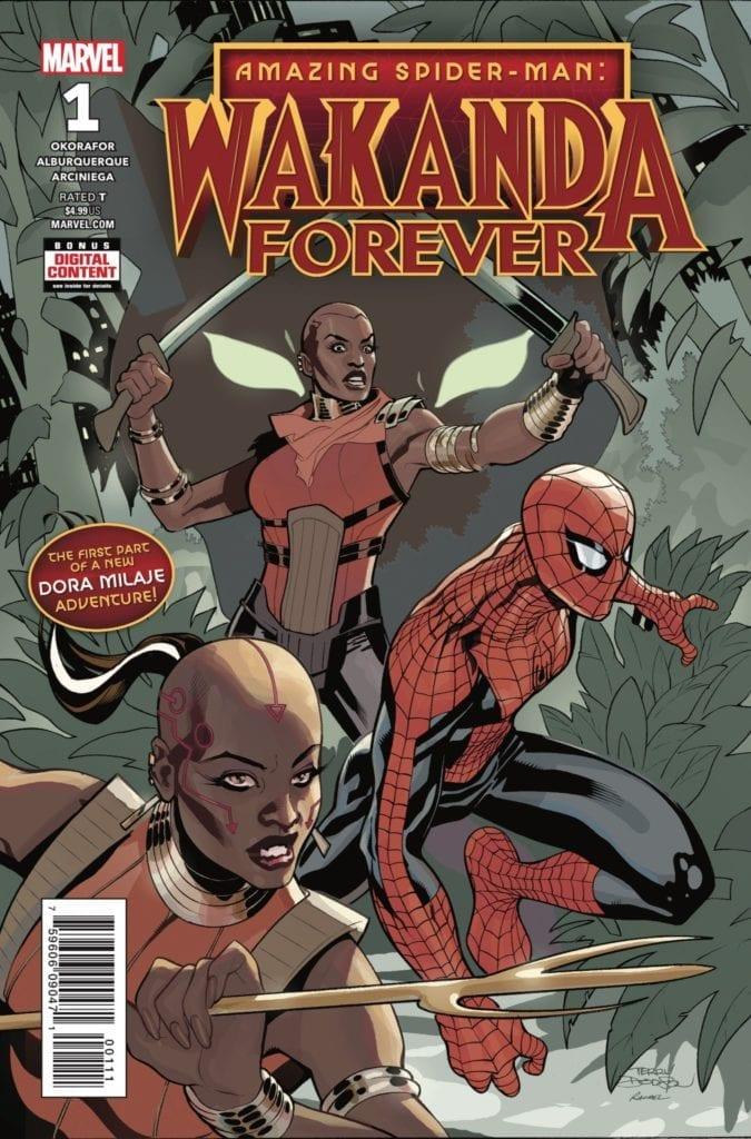 Comic completo Wakanda Forever Volumen 1