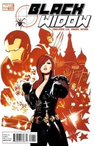 Comic completo Black Widow Volumen 4