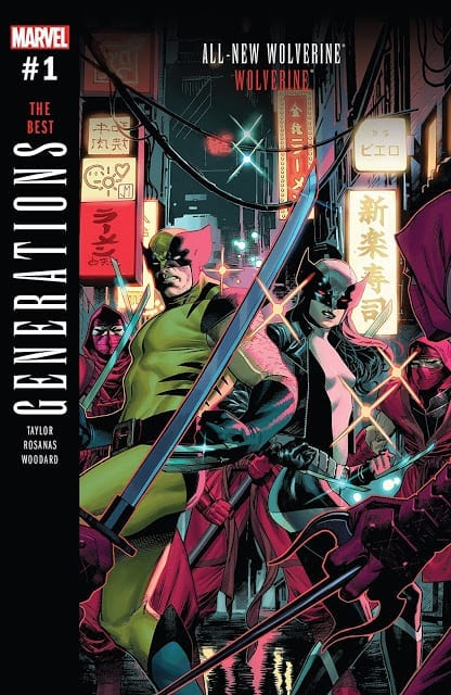 Comic completo Generations-The Best