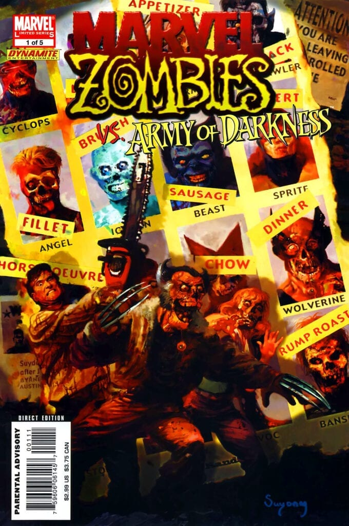 Comic completo Marvel Zombies / Army of Darkness