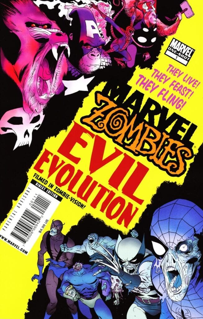 Comic completo Marvel Zombies: Evil Evolution