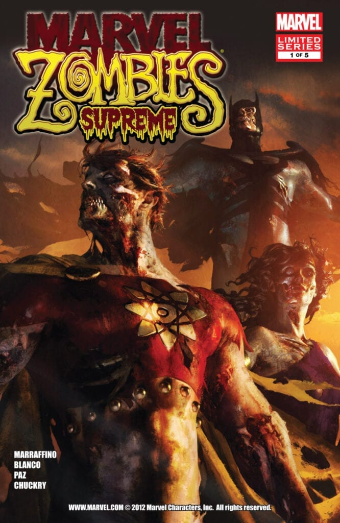 Comic completo Marvel Zombies Supreme