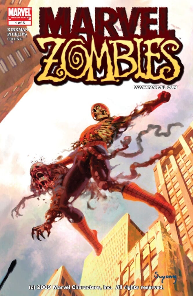 Comic completo Marvel Zombies Volumen 1