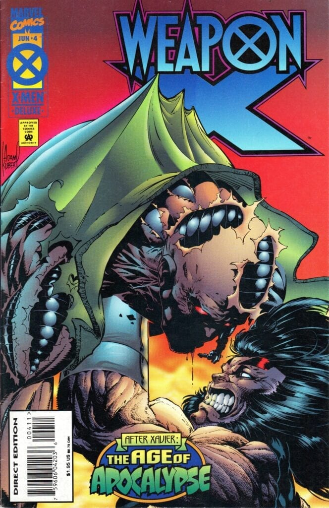 Comic completo Weapon X the age of apocalypse