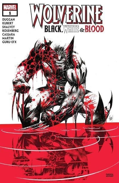 Comic en emision Wolverine Black White And Blood
