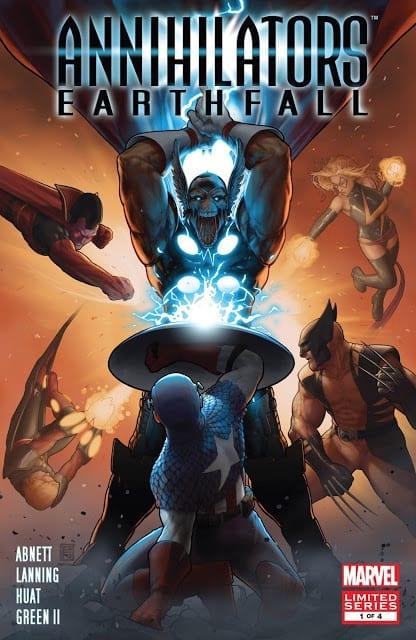 Comic completo Annihilators Earthfall