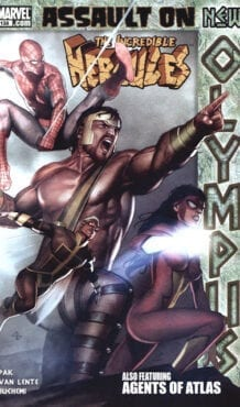 Comic completo Assault On New Olympus