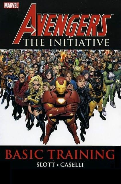 Comic completo Avengers The Initiative