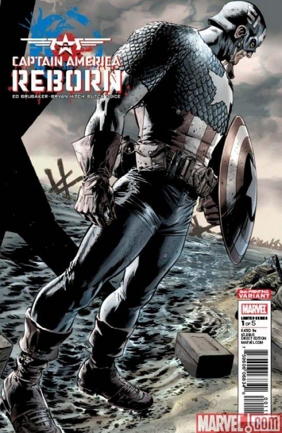 Comic completo Captain America Reborn