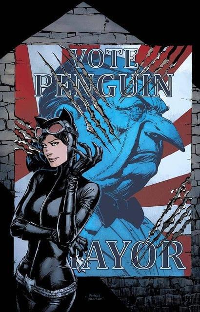 Descargar Catwoman Election Night comic