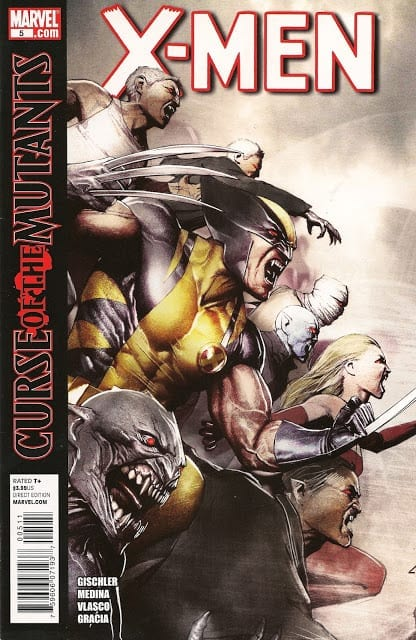 Comic completo Curse of The Mutants